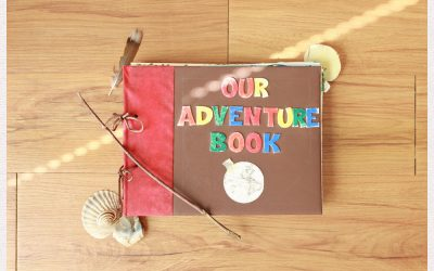 My Adventure Book DIY Tutorial From Up