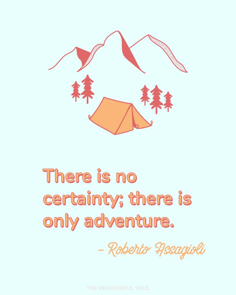 Travel Inspiration Quote Roberto Assagioli - The Wanderful Soul Blog