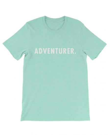 Boho adventurer tee mint green the wanderful soul