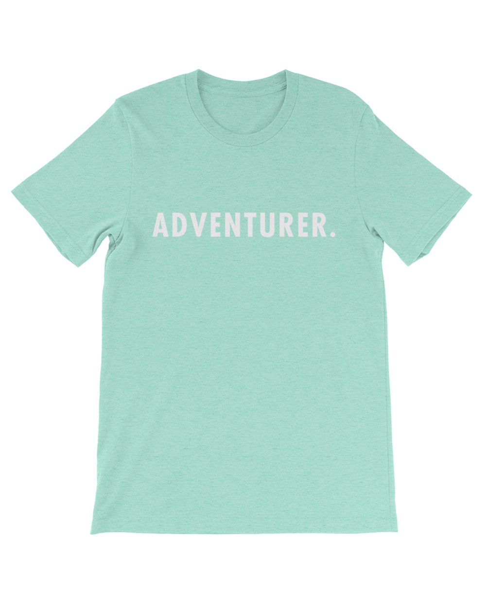 Boho adventurer tee mint green the wanderful soul