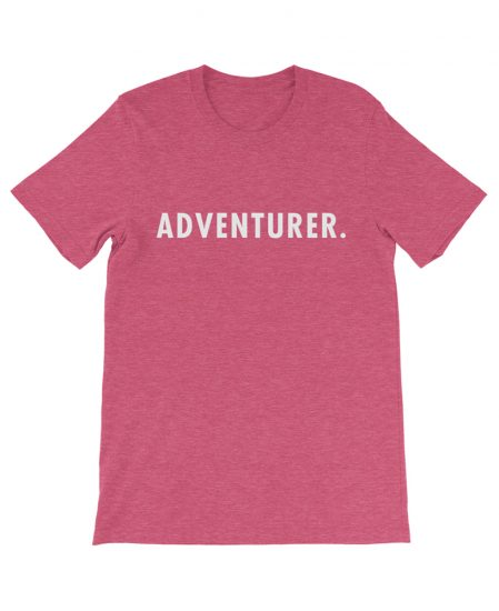 Boho adventurer travel tee rasberry the wanderful soul