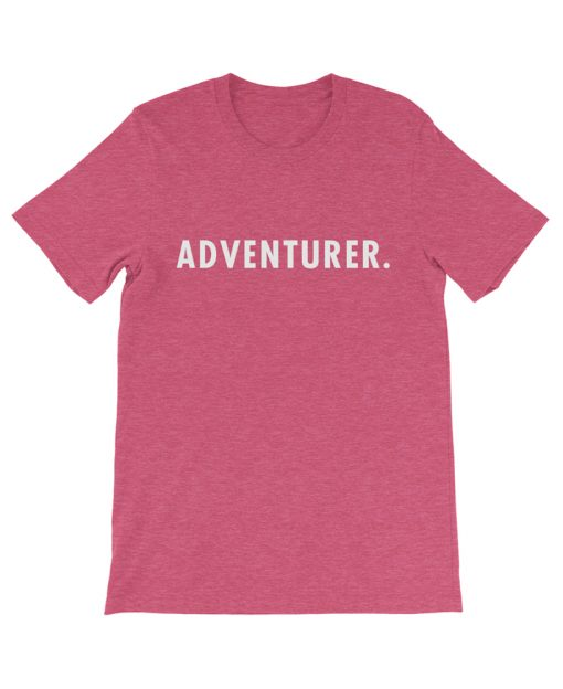 Boho adventurer travel tee rasberry the wanderful soul