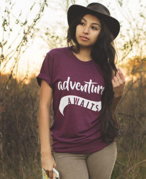 boho adventure awaits tee the wanderful soul
