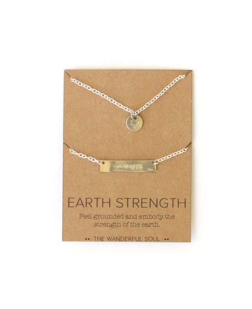 Earth strength necklace set