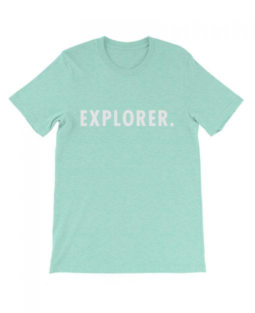 Boho explorer tee mint the wanderful soul