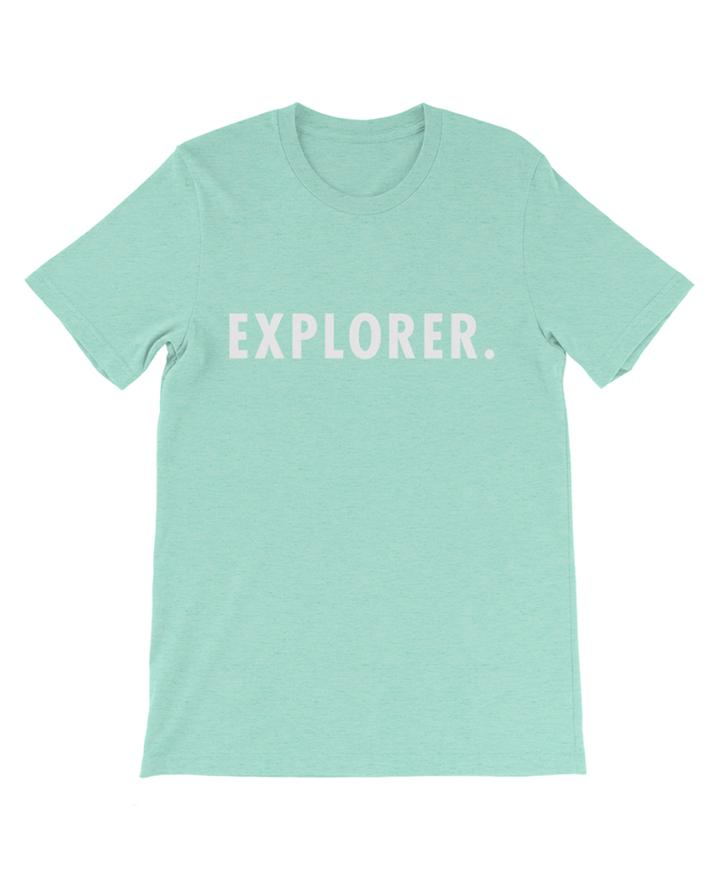 Boho explorer tee mint the wanderful soul