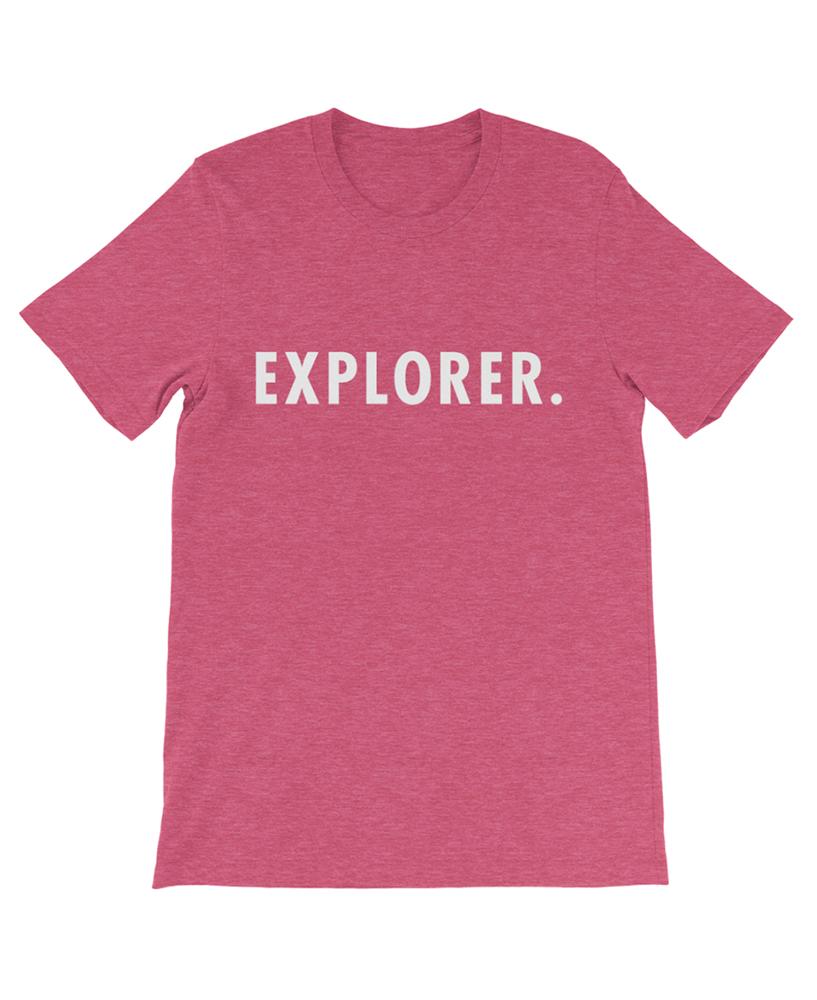 Boho explorer tee rasberry the wanderful soul