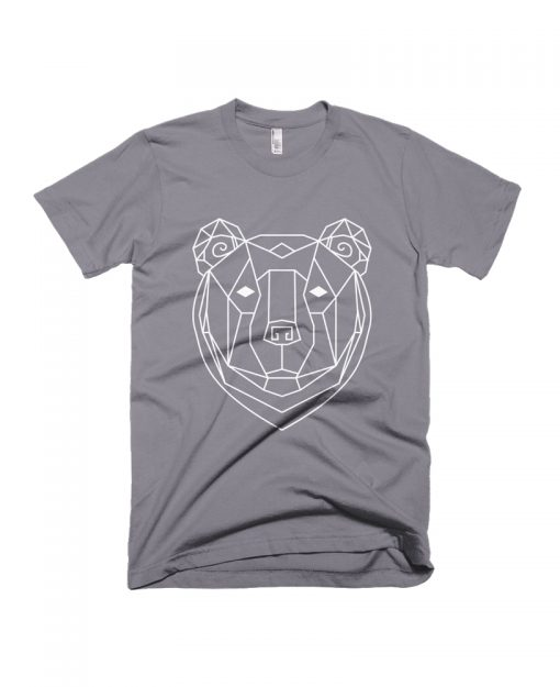 geometric bear totem tee the wanderful soul