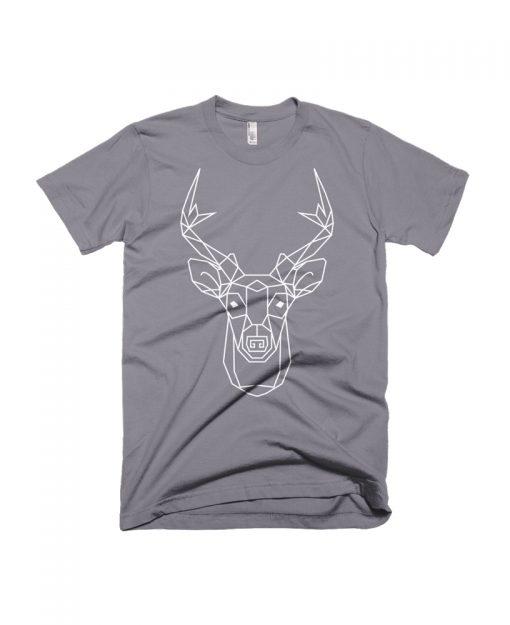 Geometric Deer Totem Tee