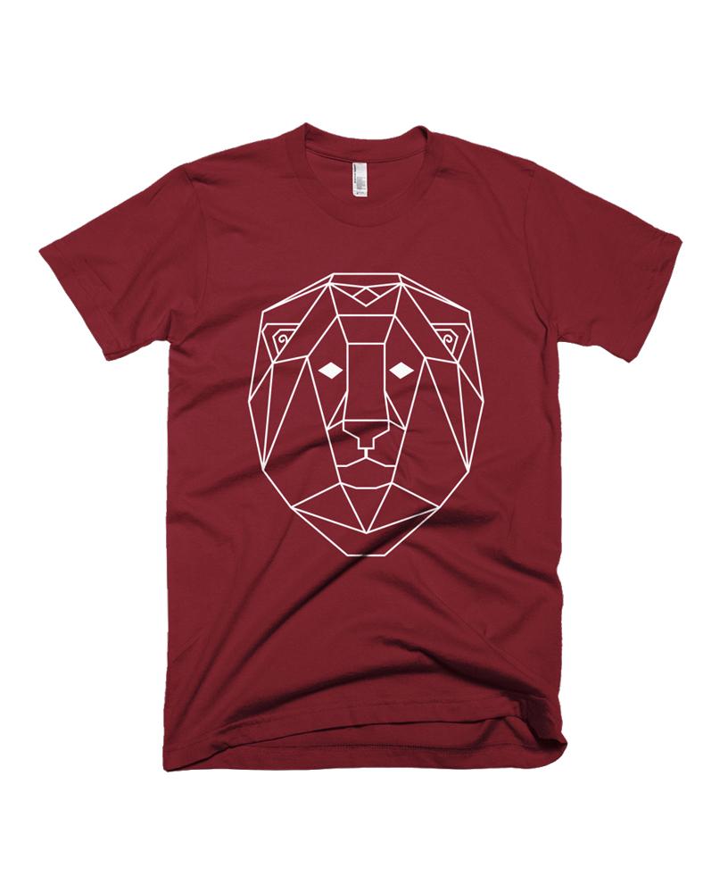 geometric lion totem tee the wanderful soul