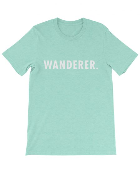 boho wanderer tee travel mint the wanderful soul