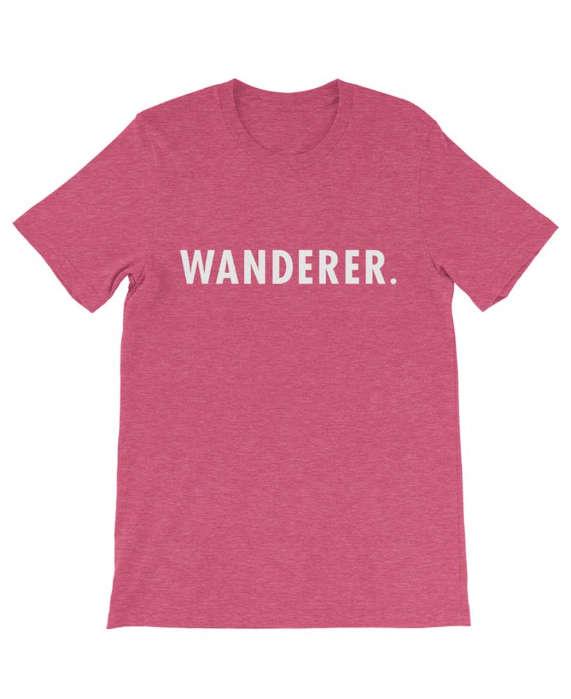 boho wanderer tee travel rasberry the wanderful soul