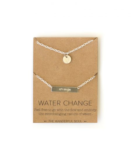 water change necklace set