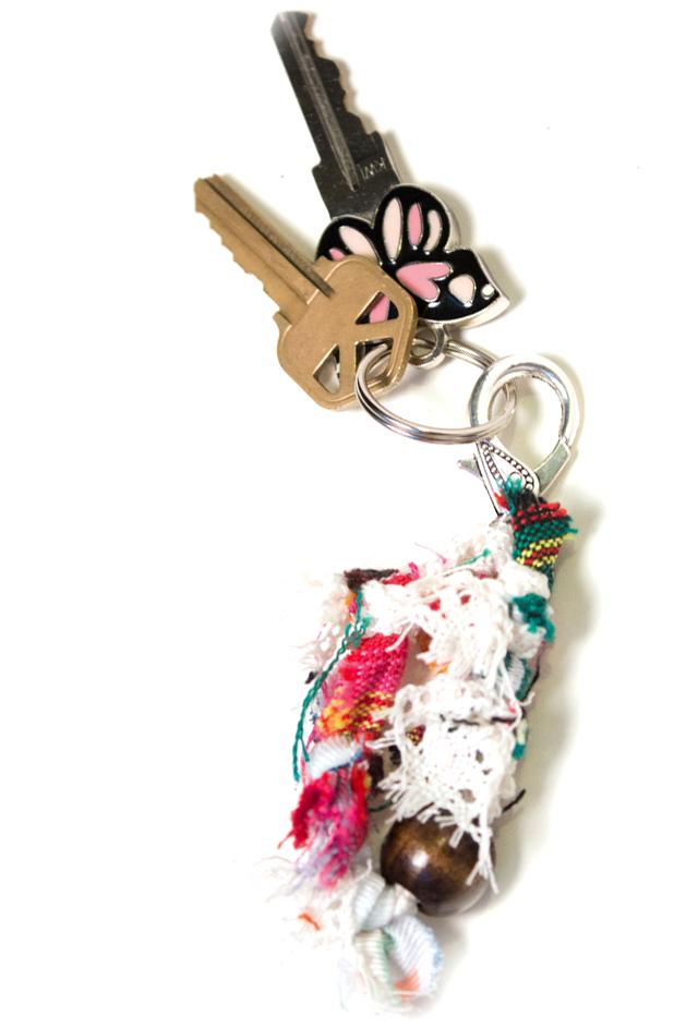 Bohemian vagabond keychain the wanderful soul