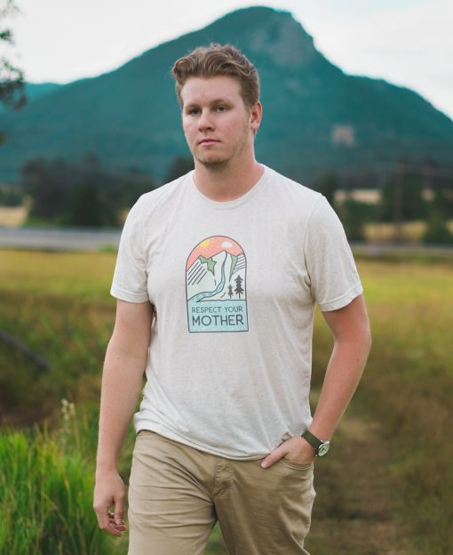 Respect Mother Nature Tee - The Wanderful Soul