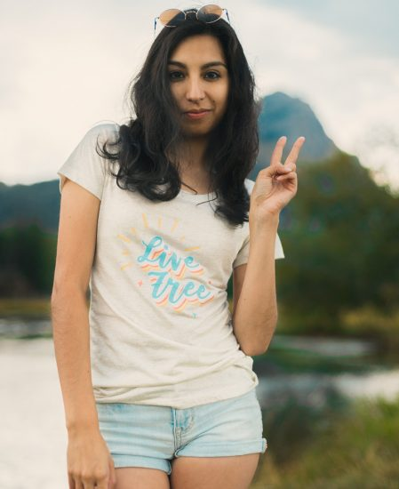 Live Free Tee - The Wanderful Soul
