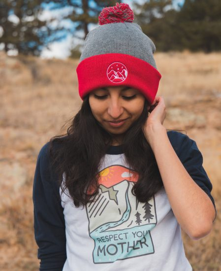 Mountain Pom Beanie - The Wanderful Soul
