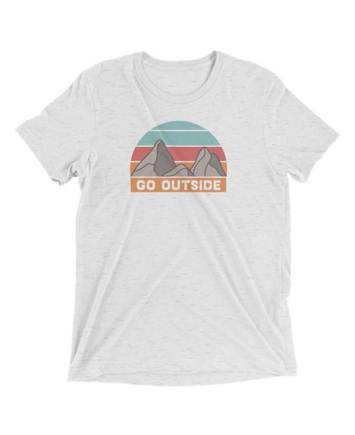 Go Outside Tee - The Wanderful Soul Outdoor Apparel