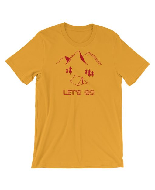 Let's Go Camping Tee - The Wanderful Soul Outdoor Apparel