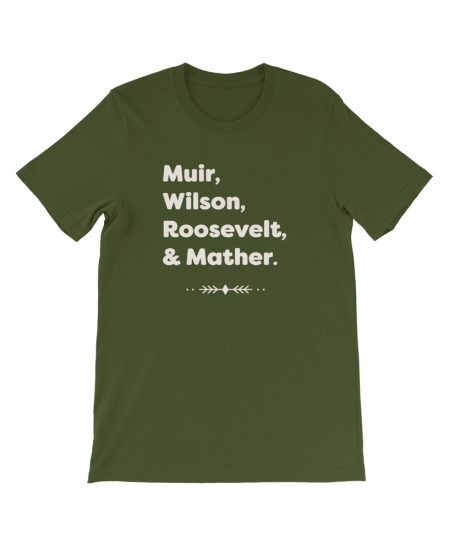 National Park Founding Fathers Tee - The Wanderful Soul Outdoor Apparel