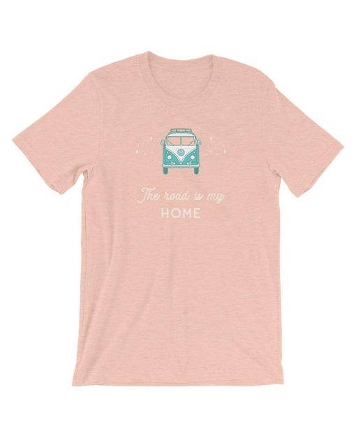 The Road is My Home Tee - The Wanderful Soul Outdoor Apparel