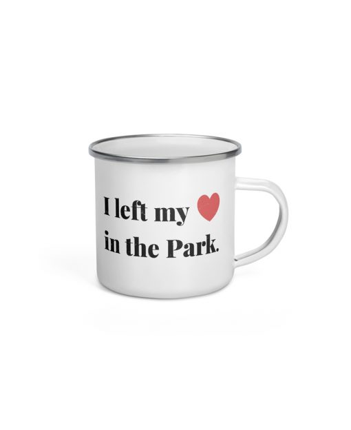 Left My Heart in the National Park Camp Mug - The Wanderful Soul
