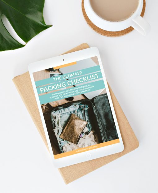 The Ultimate Packing Checklist - The Wanderful Soul Travel Guide